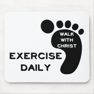 Walk With Christ Mousepad