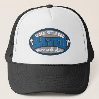 Walk With God(Blue) Trucker Hat