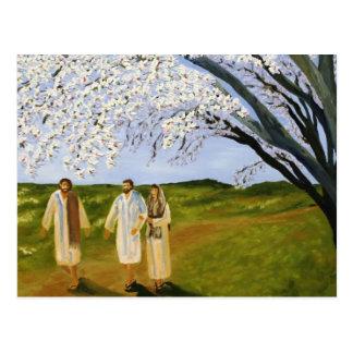 Walk With Jesus Postcard
