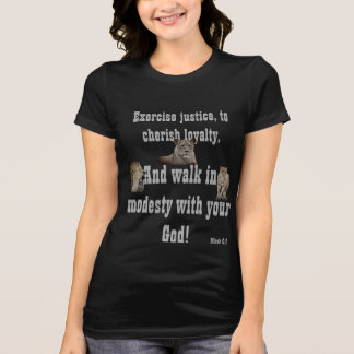 Walk With Your God! Basic T-Shirt