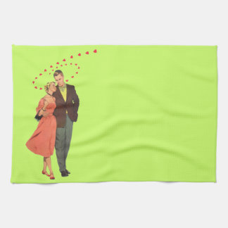Walk You Home Kitchen Towel