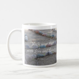 Walk Your Path Labyrinth Mug