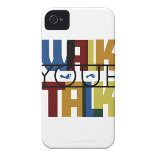 Walk Your Talk #1 Case-Mate iPhone 4 Cases