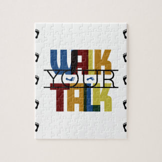Walk Your Talk #1 Jigsaw Puzzle
