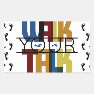 Walk Your Talk #1 Sticker