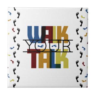 Walk Your Talk #1 Tiles