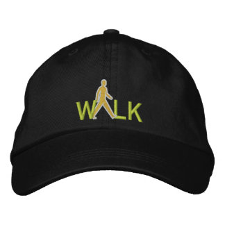 Walkable community embroidered hat
