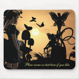 Walked in on Fairies mousepad