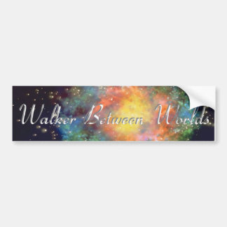 Walker Between Worlds Bumper Sticker