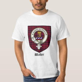 Walker Clan Crest Tshirt / Walker Tartan