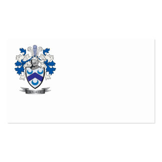 Walker Coat of Arms Business Card