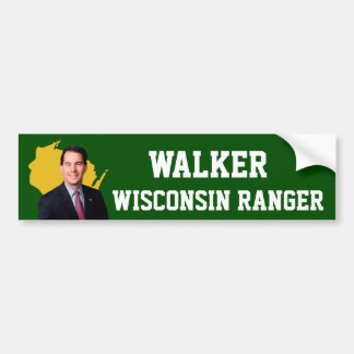 Walker Wisconsin Ranger Bumper Sticker