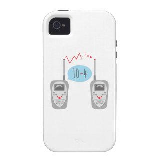 Walkie Talkies 10-4 iPhone 4/4S Case