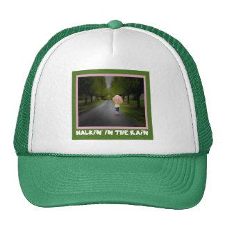 Walkin' in the Rain Cap Trucker Hat