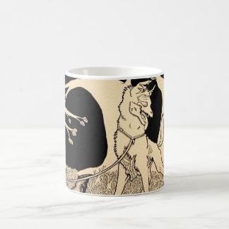 """""""Walking a Dead Dog"""" Coffee Mug"""