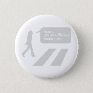 Walking Abbey Road Custom ED. 2 Inch Round Button