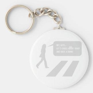 Walking Abbey Road Custom ED. Keychain
