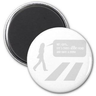 Walking Abbey Road Custom ED. Magnet
