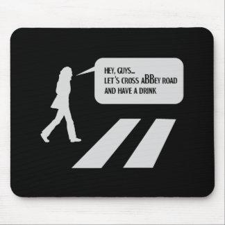 Walking Abbey Road Custom ED. Mouse Pad