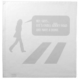 Walking Abbey Road Custom ED. Napkin