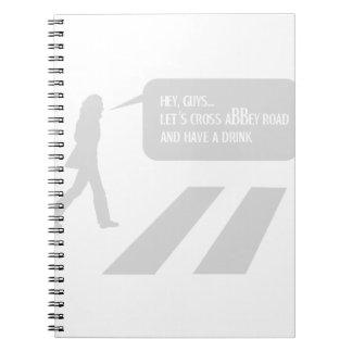 Walking Abbey Road Custom ED. Notebooks