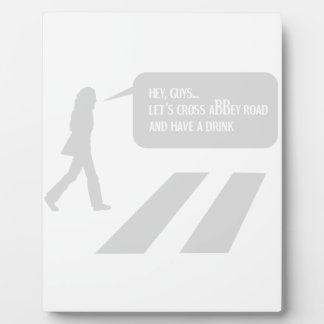 Walking Abbey Road Custom ED. Plaque