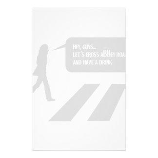 Walking Abbey Road Custom ED. Stationery