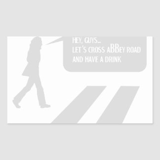 Walking Abbey Road Custom ED. Sticker
