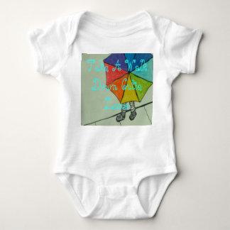 walking :) baby bodysuit