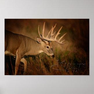 Walking Buck Poster