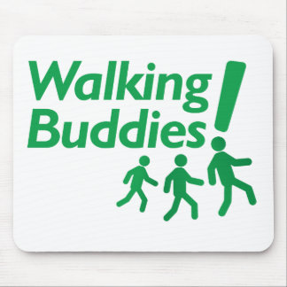WALKING BUDDIES Motivation to Walk Mouse Pad