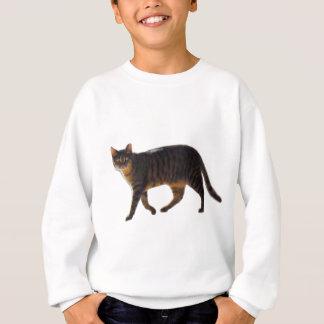 Walking Cat 201711j Sweatshirt