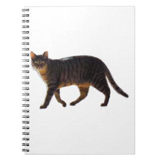 Walking Cat Notebook