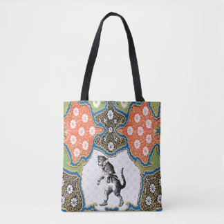 Walking Cat TB Tote Bag
