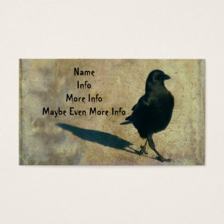Walking Crow Business Card