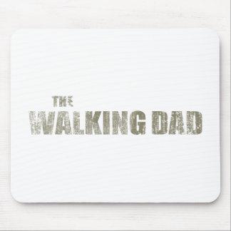Walking Dad Mouse Pad