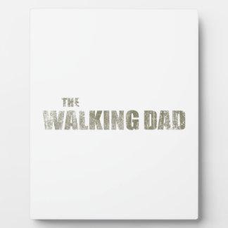 Walking Dad Plaque