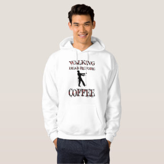 Walking Dead, Before Coffee, Zombie Hoodie