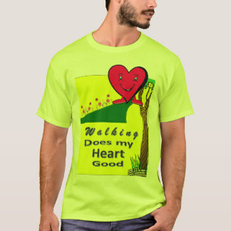 Walking Does My Heart Good T-Shirt