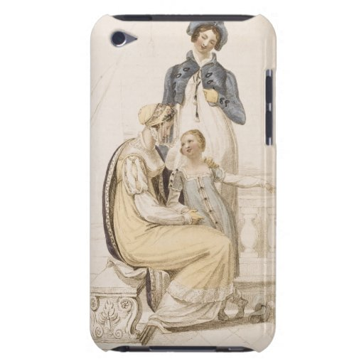 Walking Dresses, fashion plate from Ackermann's Re Barely There iPod Cover