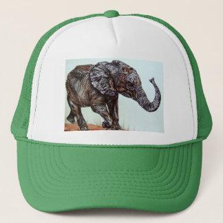 Walking Elephant Trucker Hat