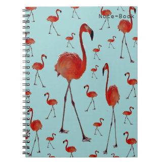 Walking Flamingoes Notebooks