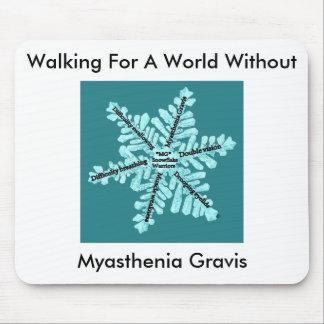 Walking For A World W/out Myasthenia Gravis Mousepad