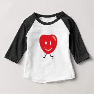 walking heart baby T-Shirt