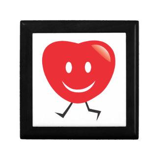 walking heart gift box