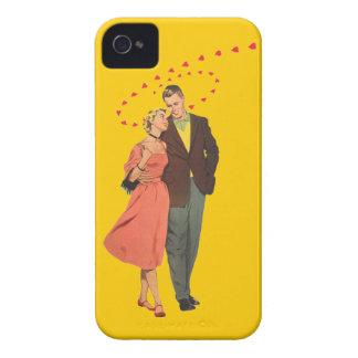 Walking Home - 50's Vintage Illustration iPhone 4 Case-Mate Case
