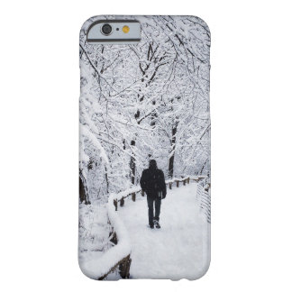 Walking In A Winter Wonderland Barely There iPhone 6 Case