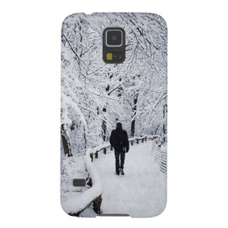 Walking In A Winter Wonderland Cases For Galaxy S5