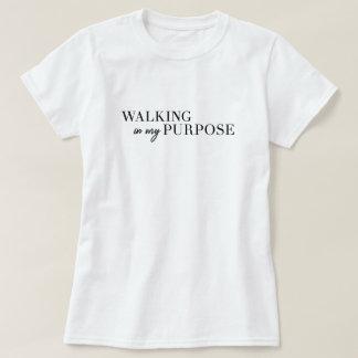 Walking In My Purpose Tshirt