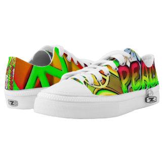Walking in Peace Low-Top Sneakers